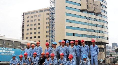 marriott hotel ethiopia team
