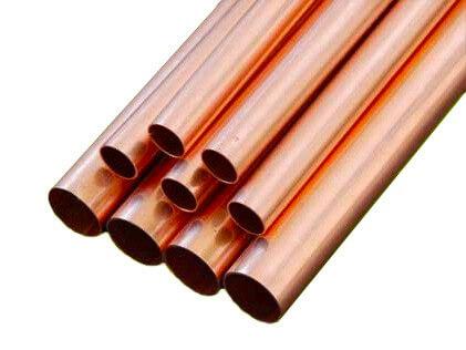 Straight Copper Pipe R410a Dia44.5mm