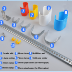 pipe hangers clamp components 1