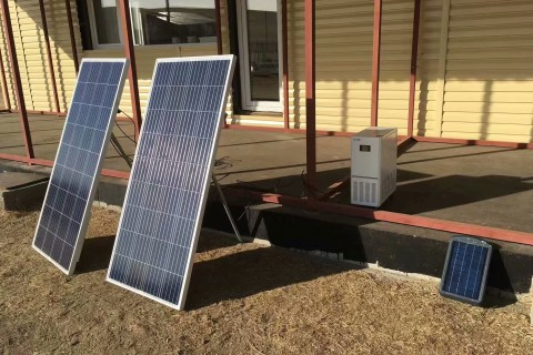 mongolia solar project panels