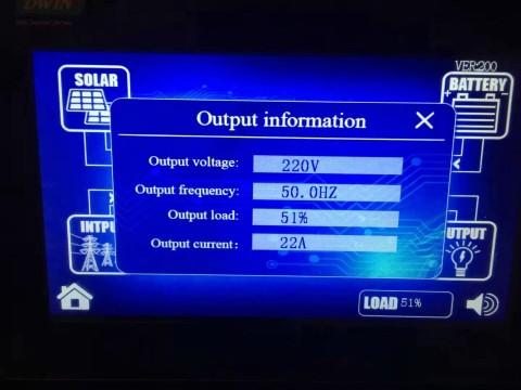 mongolia solar project inverter display 2