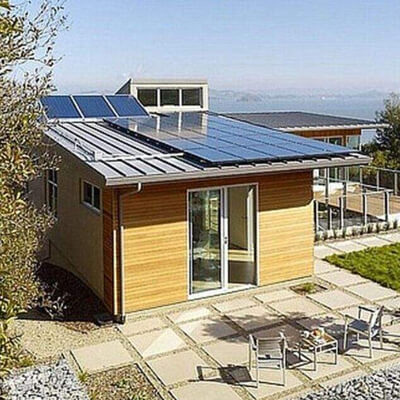 solar power house
